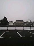 テスト1日目雪